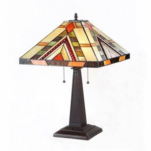Braxton Mission Tiffany Stained Glass Table Lamp