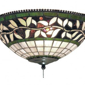 Tiffany Stained Glass Fan Kit Ceiling Mount