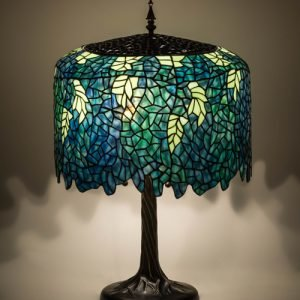 Wisteria Ocean Tiffany Stained Glass Table Lamp